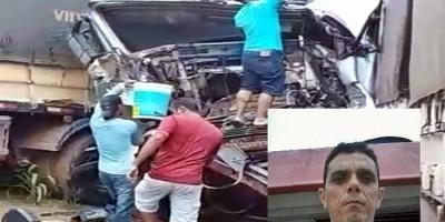 Motorista que sofreu queimaduras durante acidente com engavetamento na 364, morre em hospital de Porto Velho