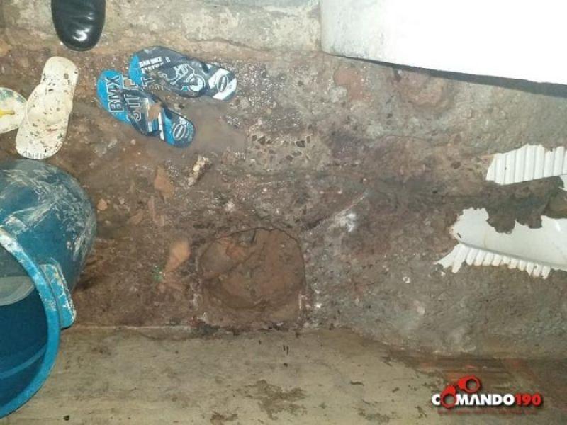 Polícia Penal descobre túnel no Presídio Agenor Martins de Carvalho e frustram nova fuga em massa, em Ji-Paraná - VIDEO