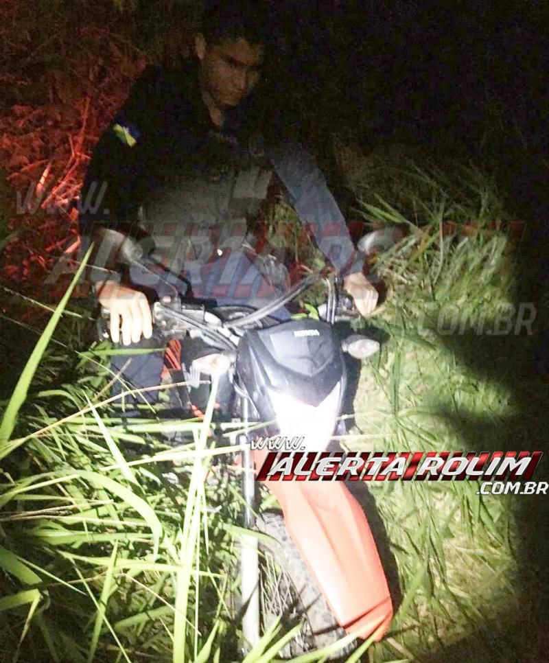 Poucas horas depois de ser roubada, Bros é localizada em mata na linha 168, em Rolim de Moura
