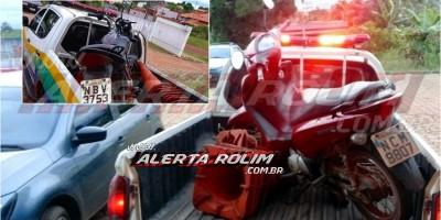 URGENTE – Duas motos roubadas são recuperadas pela Polícia Militar do 10º Batalhão, em Rolim de Moura