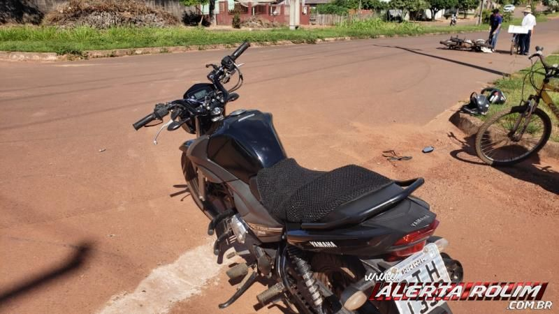 Acidente de trânsito envolvendo duas motos resulta em condutoras feridas, em Rolim de Moura – Vídeo