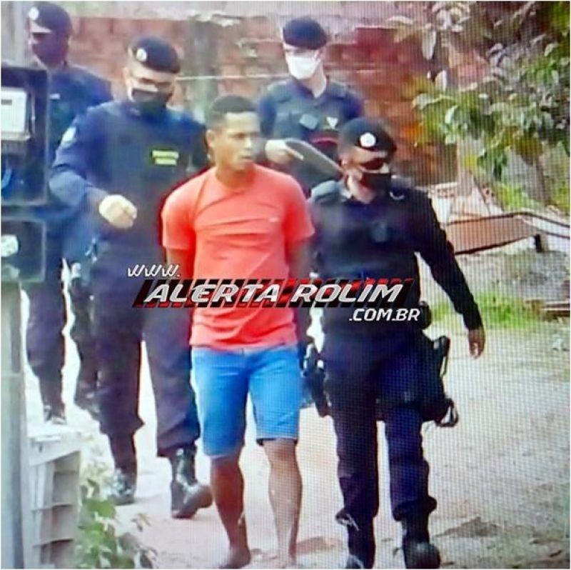 Acusado de crime de receptação é preso pela Polícia Militar, em Rolim de Moura
