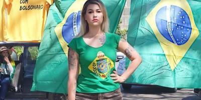 Ativista Sara Winter é presa em Brasília