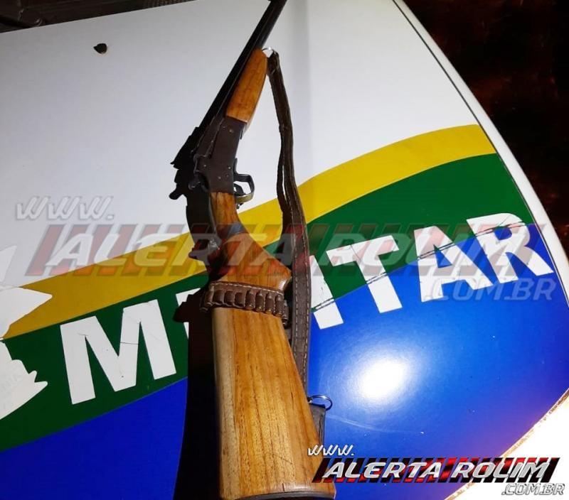 Durante Operação Hórus, Polícia Militar apreende várias armas de fogo, munições, madeira e mais de 160 kg de carne de jacaré e pescado