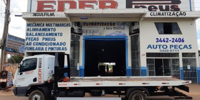 Eder Pneus Autocenter, em Rolim de Moura