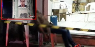 Homem é executado a tiros em cadeira de bar, em Ji-Paraná
