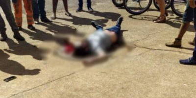 Homem socorrido em estado grave após ser baleado em pátio de posto de combustível, em Vilhena
