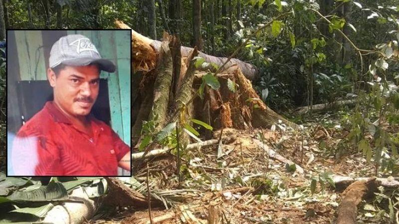Morador de Rondônia morre após ser atingido por árvore durante derrubada no Guatá-MT