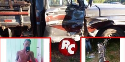 Motociclista morre ao colidir contra caminhonete F-1000 na RO 481, em São Miguel do Guaporé
