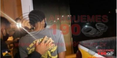 Homem é preso após matar a própria filha a golpes de paulada na zona rural de Ariquemes