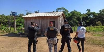 PF resgata venezuelanos em situação de trabalho escravo em RO; criança e mulher grávida estavam há meses sem receber