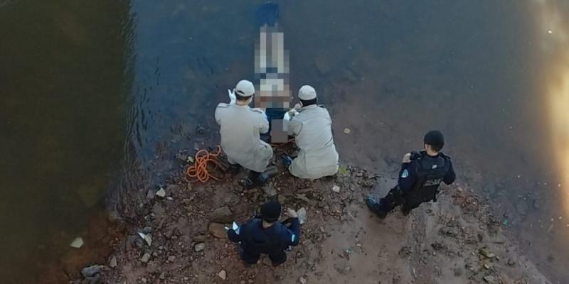 Pimenta Bueno – Corpo com os pés amarrados é encontrado embaixo da ponte na saída para Rolim de Moura