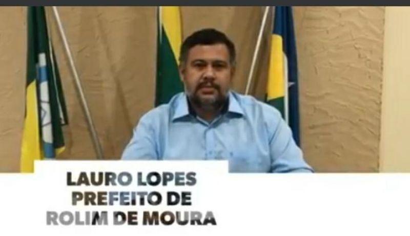 Prefeito de Rolim da parecer à respeito da Portaria do Governo de Rondônia