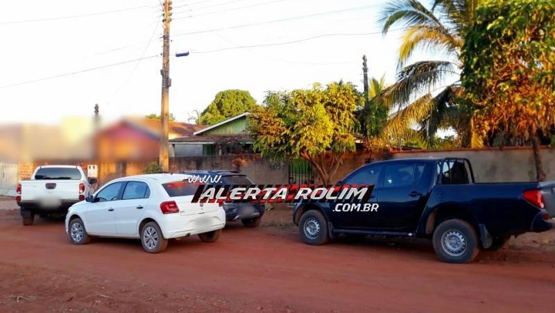 Operação da Polícia Civil e Militar de São Miguel prende acusado de tráfico e roubo, em Rolim de Moura - Vídeo
