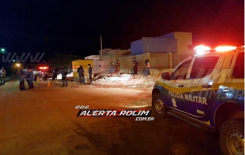 URGENTE - Homem é morto a pauladas e pedradas, no Bairro Planalto, em Rolim de Moura