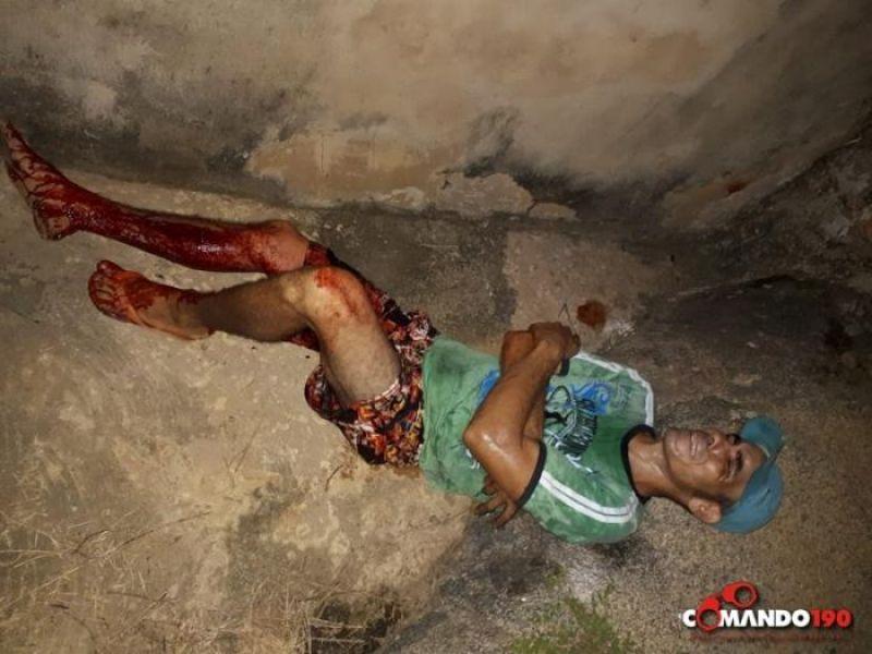 Usuário de drogas é baleado na frente de 'Inferninho', em Ji-Paraná