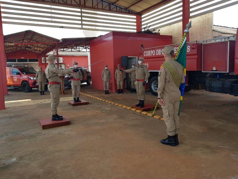 Corpo de Bombeiros de Rolim de Moura tem novo comandante