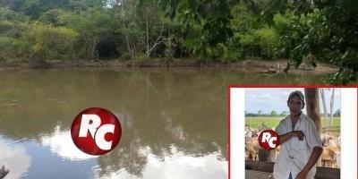 Corpo de Jovem é encontrado após buscas no Rio Conceição em São Francisco do Guaporé.