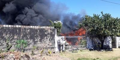 Idoso morre ao tentar salvar objetos de sua casa em chamas, no Mato Grosso