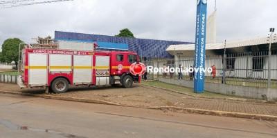 Incêndio destrói prédio do INSS em Porto Velho