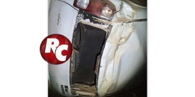 Motorista morre após capotamento na Linha 58 em São Domingos do Guaporé.