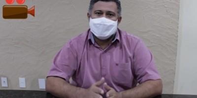Prefeito de Rolim de Moura fala sobre a postura do município em relação Decreto do estado sobre a fase 1, assista ao vídeo