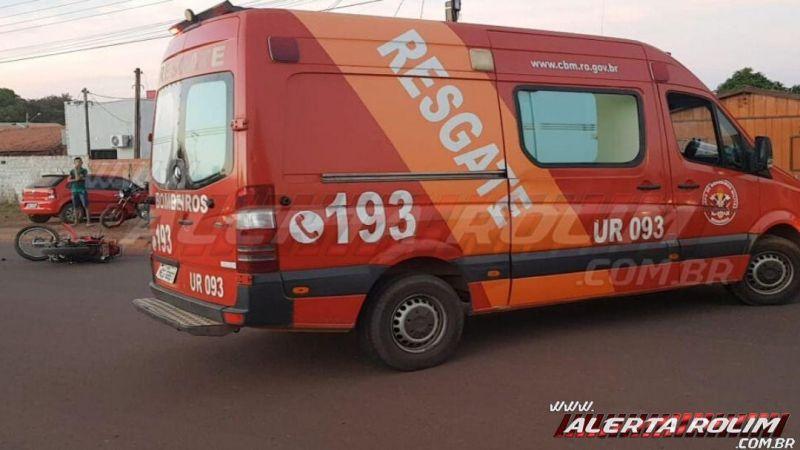 Rolim de Moura - Terceiro acidente é registrado na tarde desta sexta-feira