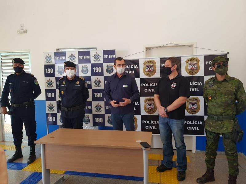 URGENTE - Grande quantidade de drogas é apreendida pela PM, PF, BPFron e PC, na zona rural de Alto Alegre