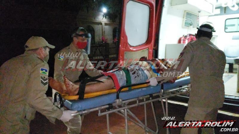 URGENTE - Homem é esfaqueado durante discussão, em Rolim de Moura; dois suspeitos foram presos pela equipe do PATAMO da PM