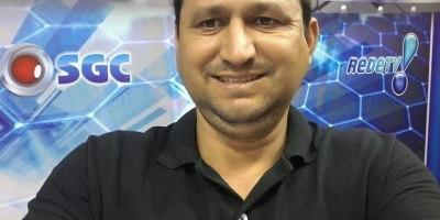Vítima de Covid-19, morre aos 43 anos Wanderley Alves ex- repórter da RedeTV Rolim de Moura e radialista da Rolim FM
