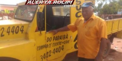 Nota de falecimento - José Pereira Martins ( Paraíba do sucatão), em Rolim de Moura