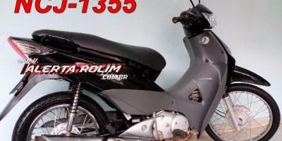 Proprietária pede ajuda para encontrar sua moto que foi furtada após sua casa ser arrombada no Bairro Olímpico, em Rolim de Moura