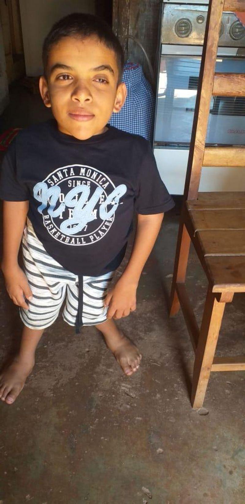 Criança necessita de ajuda para realizar cirurgia nos olhos em Alto Alegre dos Parecis