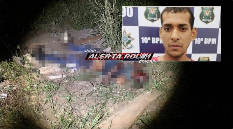 URGENTE - Durante discussão, homem é morto a pauladas e golpes de facão, no Bairro Beira Rio, em Rolim de Moura