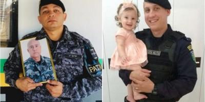 Filhos se inspiram na trajetória do pai oficial da Polícia Militar do Estado de Rondônia