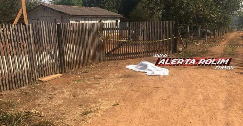 URGENTE - Homem é assassinado na zona rural de Rolim de Moura
