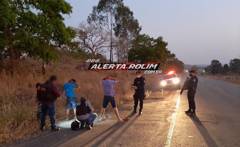Moto roubada é recuperada pela Polícia Militar em Santa Luzia; um suspeito foi preso