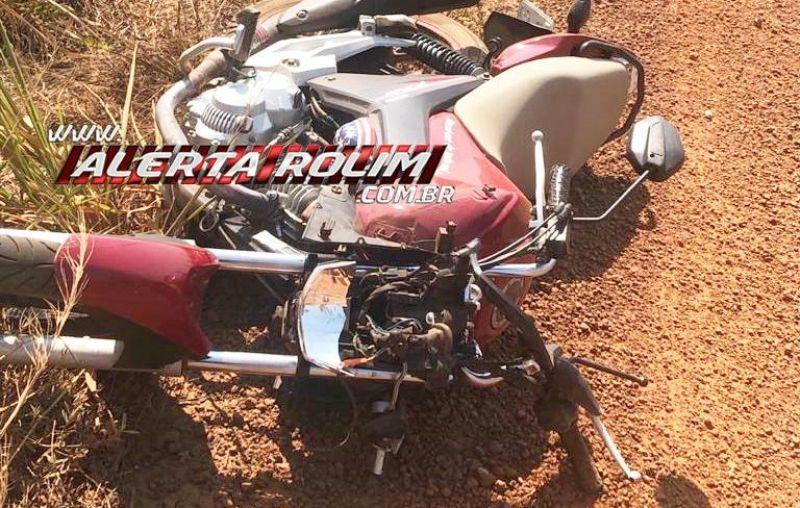 Motociclista perde a vida, após possível colisão com animal na Zona Rural de Alto Alegre dos Parecis