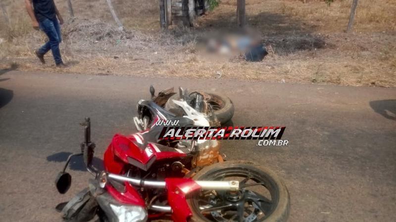 Motociclista perde a vida, após sofrer grave acidente, na RO-383, em Santa Luzia
