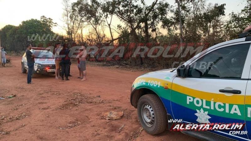 Motorista inabilitado e com sinais de embriaguez tomba veículo no Bairro Olímpico, em Rolim de Moura - Vídeo