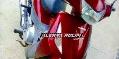 Mulher pede ajuda para encontrar moto, após emprestar para vizinho e ele desaparecer com veículo, em Rolim de Moura