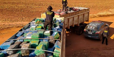 Operação Hórus faz a maior captura de drogas da história do Brasil, no MT