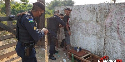 PM recaptura dois apenados que fugiram do Presídio Agenor Martins de Carvalho no domingo, em Ji-Paraná
