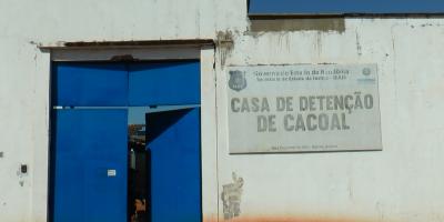 Presídio de Cacoal tem 21 detentos infectados com a Covid-19