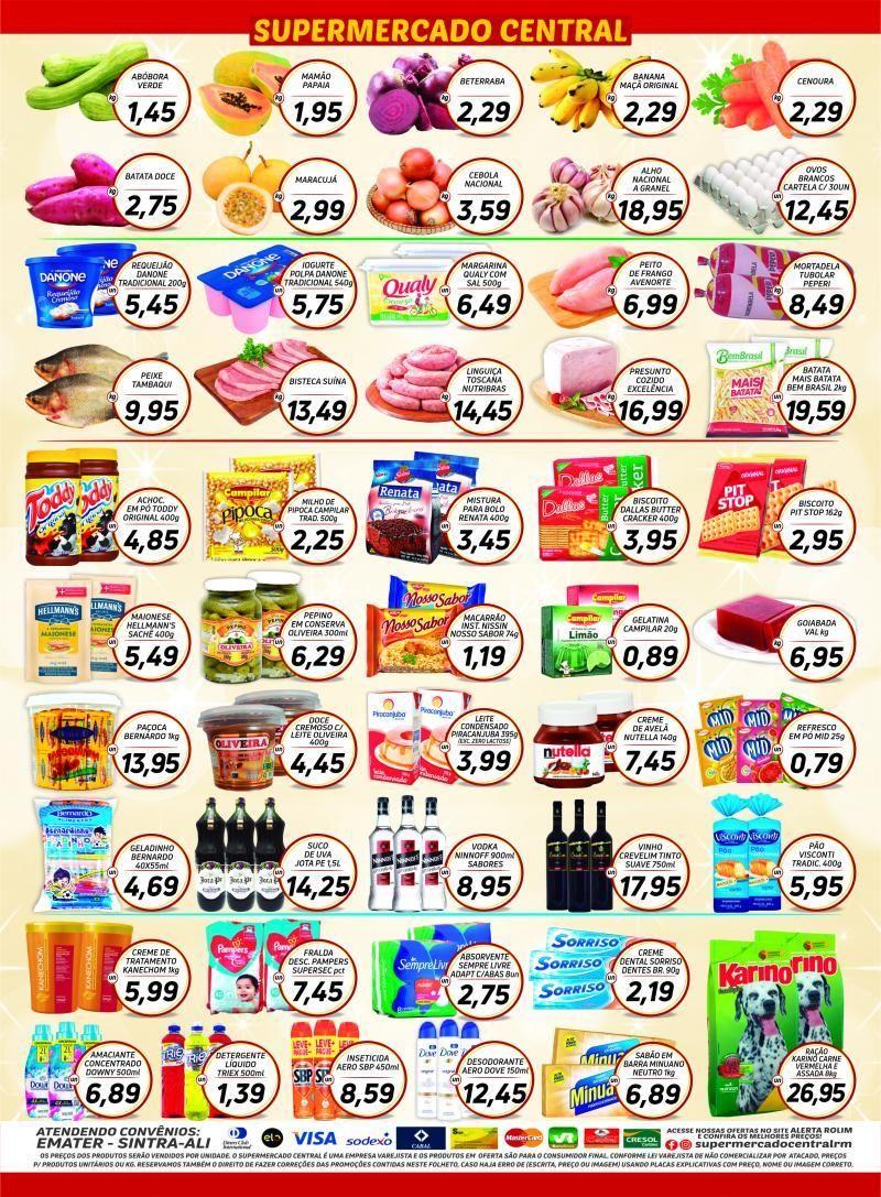 Promoção Supermercado Central, em Rolim de Moura
