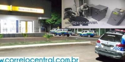 Banco do Brasil de Mirante da Serra é alvo de bandidos na madrugada deste sábado