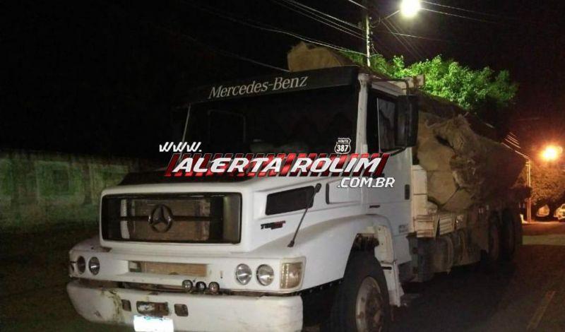 Cargas de madeira extraídas de Reserva Indígena são apreendidas pela PM, em Alto Alegre, durante Operação Hórus