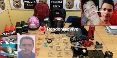 Comerciante foi amarrado e assassinado por asfixia durante roubo; PC age rápido e prende os suspeitos do crime, em Porto Velho