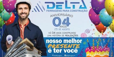 Delta Ferragens Armada para Construção completa 04 anos