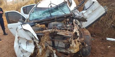 Médica sofre grave acidente na RO-481 após sair de plantão em Nova Brasilândia/RO